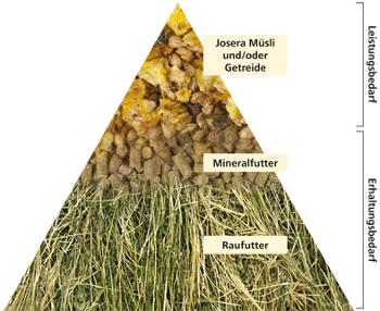 JOSERA-Pferdefutter-Fuetterungswissen-Futterpyramide